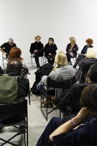 Marinella Senatore, ROSAS, Conversazione a Viafarini tra l'artista Marinella Senatore, Anna Detheridge, Gabi Scardi e Marco Scotini