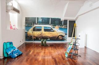 progetto77 e Archivio Viafarini, Veduta dell'allestimento mostra Perfezioni