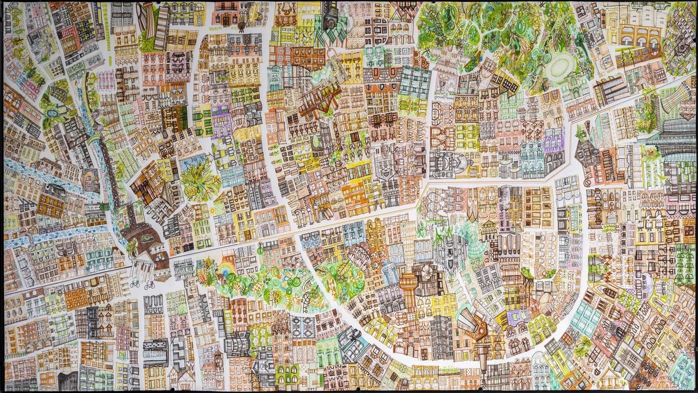 Viafarini Open Studio, Rebecca Agnes, La città di chi?, credits: Federica Belli
