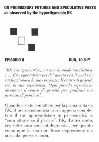 Trascrizione dei quattro radio drammi