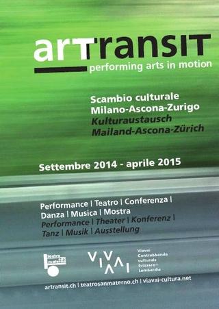 Booklet informativo sul progetto complessivo e profili di artisti e curatori coinvolti (settembre 2014 - aprile 2015)
