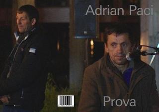 Adrian Paci, Prova, catalogo mostra personale presso Galleria Nazionale dell'Albania, Tirana (2019)