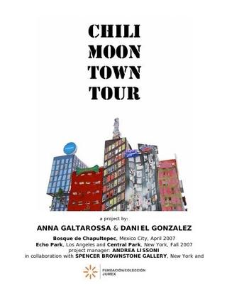 """""""Chili Moon Town"""", Fundacion Jumex, Città del Messico (2007)."""