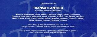 Invito Transatlantico, a cura di Alberto Garutti