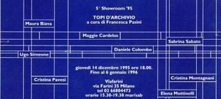 Invito Topi d'Archivio, a cura di Francesca Pasini