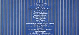 Invito Mappe '96, a cura di Emanuela De Cecco