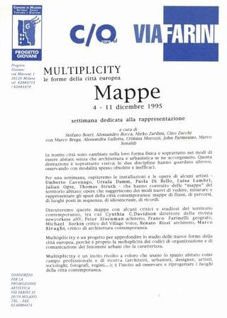Comunicato Mappe Multiplicity