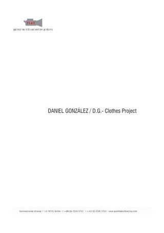 Portfolio di Daniel Gonzalez.