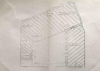 La piantina della mostra