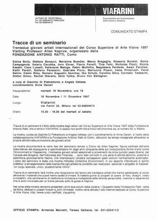 Il comunicato (1997)