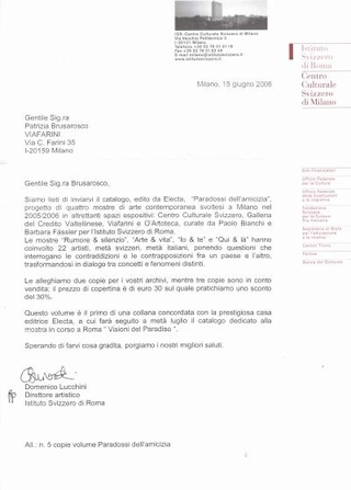 Il catalogo Electa.