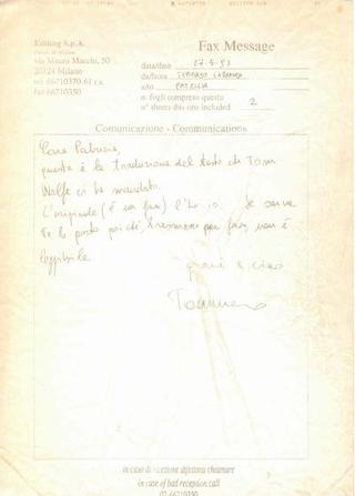 Critical Quest, testo di Tom Wolfe tradotto da Tommaso Labranca