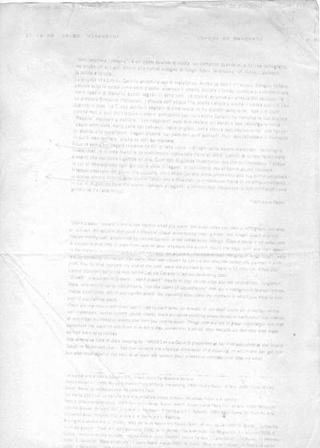 Correzione del testo di Letizia Cariello
