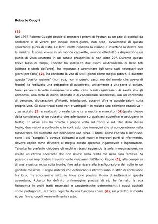 Il testo di Milovan Farronato
