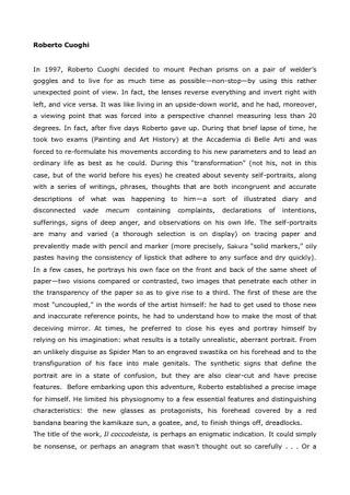 Il testo di Milovan Farronato, in inglese