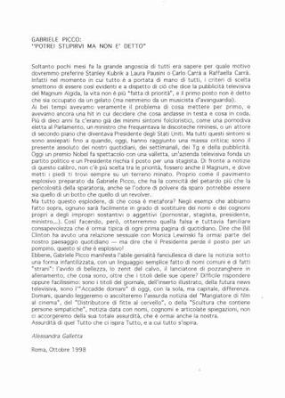 Il testo di Alessandra Galletta
