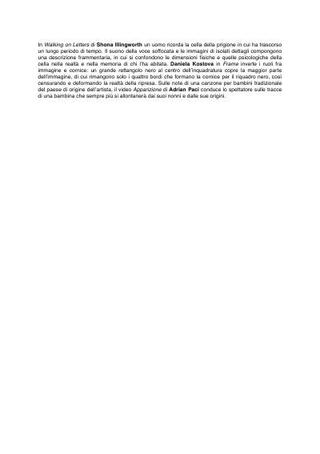 Breve testo di Lino Baldini