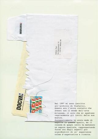 Contributo di Adrian Paci per Souvenir d'Italie, 2010