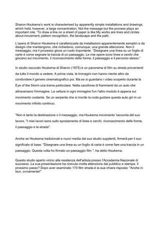 Sharon Houkema statement