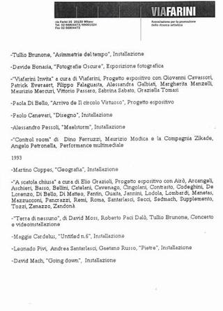 Programma 1992-1993.
