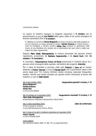 Comunicato 2000-2001.