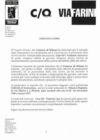 La comunicazione dei servizi con il Comune di Milano.