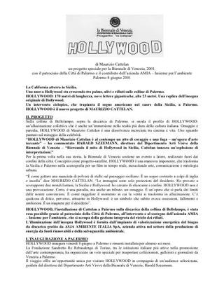 Cattelan alla Biennale