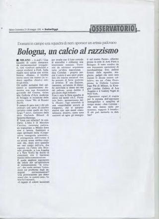 Rassegna stampa Rauss