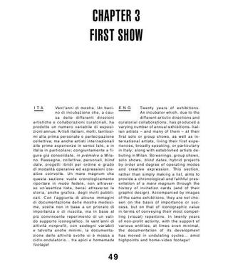 First Show