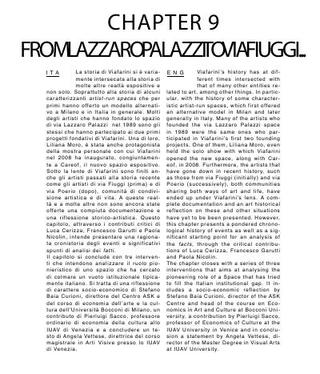 From Lazzaro Palazzi to Via Fiuggi…