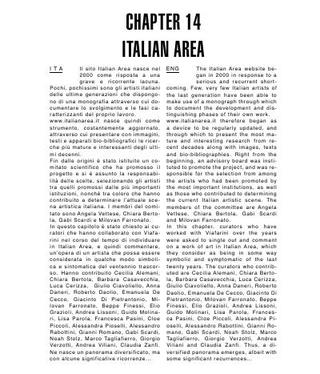 Italian Area