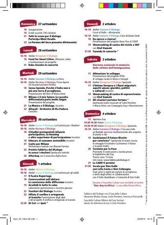 Programma La Fabbrica del dialogo con il SUQ delle Culture, 2015