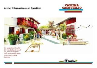 La presentazione del progetto per la Cascina C.I.Q. Centro Internazionale di Quartiere, febbraio 2018