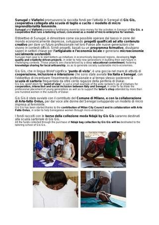 Comunicato Stampa per il Salone del Mobile, Fabbrica del Vapore, 2015: le borse della collezione Ndajè by Gis Gis