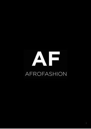 Comunicazione Afro Fashion Week