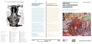 Materiale informativo del Museo del 900