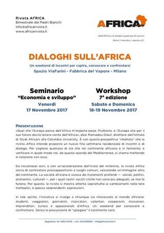 Dialoghi sull'Africa