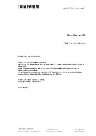 La comunicazione istituzionale di Viafarini realizzata con la citazione di Gemmo SpA.