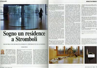 Article by Arianna Rosica, Flash Art Italia (2009)