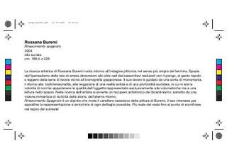 La descrizione delle opere esposte negli uffici di Gemmo SpA.