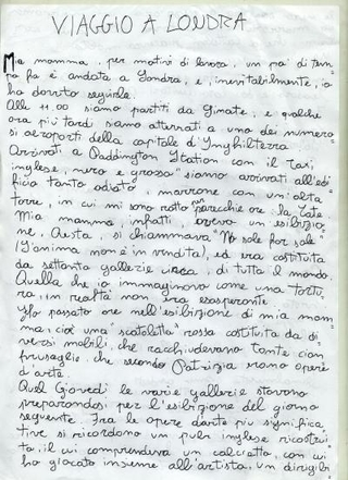 Roberto Infurna alla Tate Modern per No Soul For Sale a cura di Maurizio Cattelan, 2010
