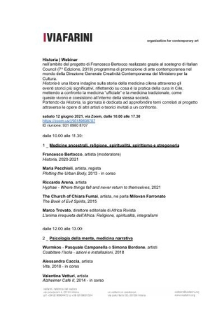 Comunicato stampa e profili dei partecipanti al Webinar