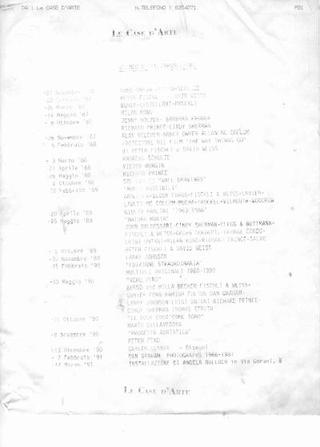 Documentazione delle gallerie