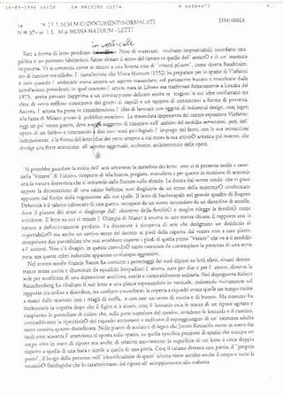 Le prove di stampa del grafico Massimo Costa