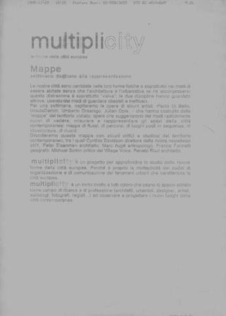Mappe, organizzazione