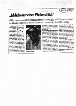 Articoli originali da diversi giornali, selezionati da Asta Groting in Germania