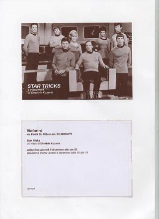 Star Tricks, un video di Dimitri Kozaris, che fu proiettato a Viafarini durante il periodo del progetto
