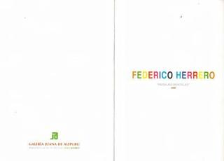 Altri inviti di Federico Herrero.