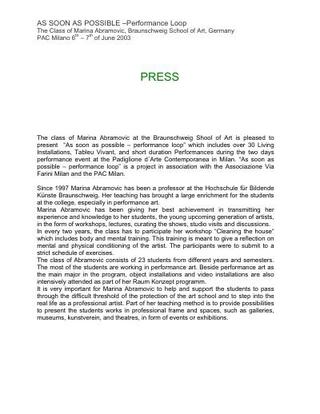 Press text.