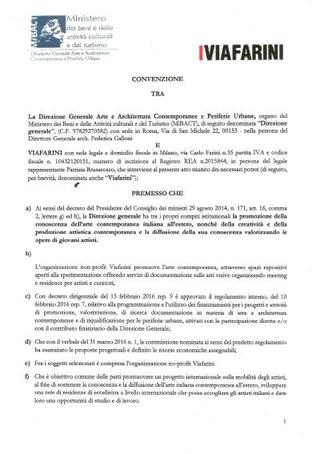 Convenzione con DG AAP - MiBACT